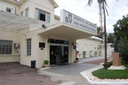 Foto da fachada do hospital